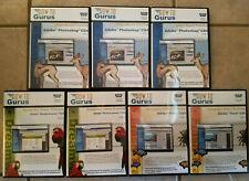 How to Gurus Video Based Training DVD Rom Adobe Photoshop CS4 Dreamweaver Flash