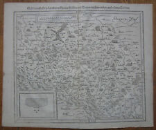 MÜNSTER/MUNSTER: Cosmographia Large Map of Poland Silesia Wroclaw - 1592