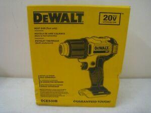 DeWalt DCE530B 20 Volts MAX Cordless Heat Gun Bare Unit