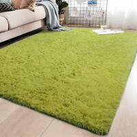 Ultra Soft Fluffy Rugs Anti-Skid Shaggy Area Rug Living Room Bedroom Floor Mat