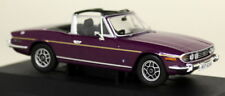 Vanguards 1/43 Scale - VA10109 Triumph Stag MK2 Magenta Diecast Model Car