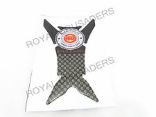 NEW ROYAL ENFIELD TANK PAD STICKER / DECAL BLACK #RE2