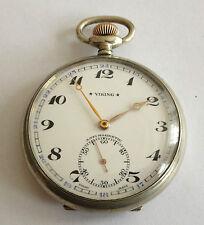 Viking Taschenuhr mit 15 Jewels Cal. 548 für Rolex Handaufzug Pocket Watch Uhr