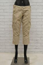 Ladies M/&S Taglie 14 16 20 Kg Misto Lino Gamba Larga Pantaloni /& Cintura Gratis