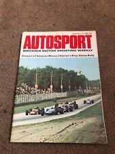 SEPT 12 1969 AUTOSPORT vintage car magazine