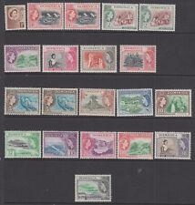 Dominica 1954 set fine used