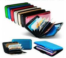 Credit Debit Card Holder Case Wallet RFID Scan Protector Waterproof Anti Theft