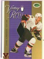 2003-04 Parkhurst Rookie Vintage ROYalty Gold Jersey Daniel Alfredsson Vault 1/1