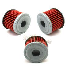 3x Oil Filters For 2013 Honda CRF150F CRF450X 2005-2013 CRF250R TRX450ER CRF450R
