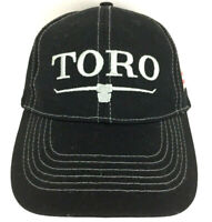 Toro Hat 100 Years Cap Landscape Equipment Strap Back Baseball Trucker Black