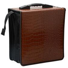 400 Disc Cd Dvd Wallet Holder Dj Storage Case Bag Album Chicken Feet Pattern Us