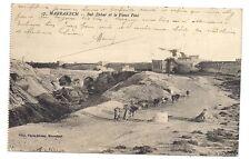 marrakech  bab debar et le vieux pont