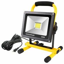30W LED Work Light IP65 FloodLight Workshop Security Outdoor Lights EQ to 200w