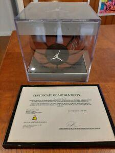 Michael Jordan AUTO Autograph Basketball COA Genuine Hand Signed