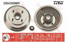 TRW Juego de 2 tambores frenos FORD FIESTA FUSION VOLVO V40 AUSTRALIA DB4308MR