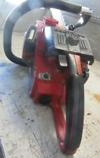 """VINTAGE COLLECTIBLE HOMELITE XL-123 CHAINSAW WITH 24"""" BAR"""