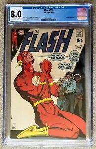 Flash #198; V1; Silver Age; CGC 8.0