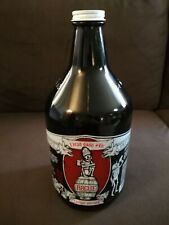 Rogue Dead Guy Ale Craft Beer 64 oz Ounce Amber Glass Growler Jug w/ Cap Lid!