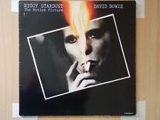 DAVID BOWIE -ZIGGY STARDUST THE MOTION PICTURE1983 DOUBLE GATEFOLD LIVE VINYL LP