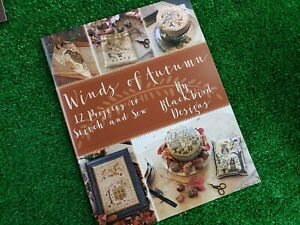 Winds of Autumn Cross Stitch Patterns by Blackbird Designs - 12 Projects