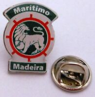 Pin / Anstecker + Maritimo Funchal Madeira + Crest Badge + Lizenz Portugal #200