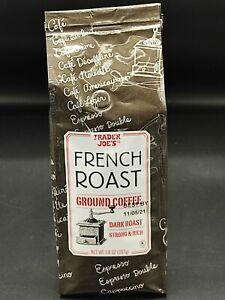 Trader Joe's French Roast Ground Coffee Dark Roast 14 OZ Strong Pareve Kosher