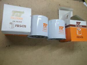 FORD SIERRA XR4i XR4x4 2.8 NEW OIL FILTER X 2