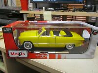 Maisto Special Edition 1:18 Scale 1949  Ford Convertible Yellow Brand New in Box