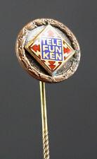 Antiguo Insignia de la compañía Radio tele Insignia de honor para 25 Jahre
