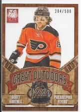 12/13 Elite Great Outdoors Scott Hartnell /500 GO-26 Flyers