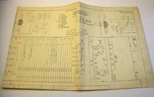 Spot Lite Pinball Schematic Bally 1951 Original Bingo Game Machine Diagram Sheet