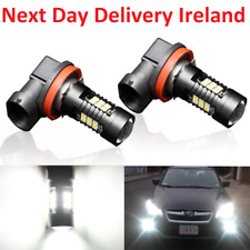 2X H8 H11 9005 9006 LED Fog Light Lamp Bulb Bulbs 3000K 6000K 3030SMD 1200LM