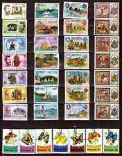 GRENADA  5 séries completes: telephone,voiliers,boyscout,papillons noel77  339T1