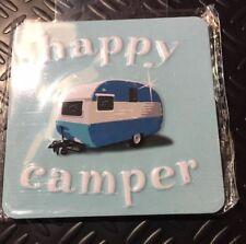 Happy camper refrigerator magnet rv 2.5x2.5