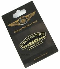 HARLEY DAVIDSON 110TH ANNIVERSARY AMERICAN CLASSIC VEST  PIN ** NEW ON CARD **