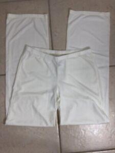 Adriana Arango Lounge Pants Size M Style 7351 Cream Sleepwear Sleep Layer