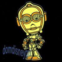 Disney Pin *Cute Star Wars* Cartoon Style Mystery Series - C-3PO!