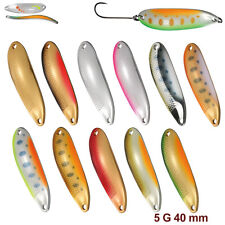 Smith D-S Line 5.0 g 40 mm various colors Native trout spoon