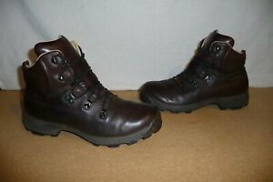 Mens Brasher SUPALITE GTX Brown Leather Walking Boots Size UK 10 (w237)