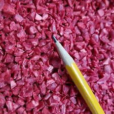 10 lbs PE POLYETHYLENE RECYCLED PLASTIC PELLETS REGRINDS SHREDS COLOR RED