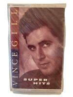 Vince Gill Cassette Super Hits - New & Sealed