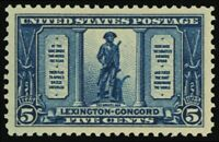 619, Mint 5¢ Superb NH Gem Quality Stamp - Stuart Katz