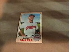 2017 Topps Heritage Danny Salazar #471 SP Cleveland Indians