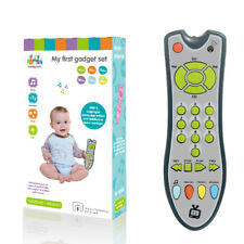 Simulation TV Remote Control Educational Music English Baby Learning Toy Game