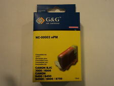 G&G Ink Cartridge Magenta Canon BJC-3000/6000 S400/S450/S4500/S600/S750