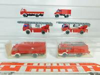 BO552-0,5# 6x Wiking H0/1:87 FW-Modell MB/Mercedes: 616 + 628 etc, NEUW+2x OVP