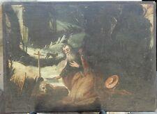 dipinto antico SAN GIROLAMO epoca 600