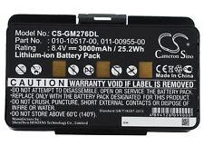 Battery For Garmin EGM478, GPSMAP 276, GPSMAP 276c 3000mAh / 25.20Wh