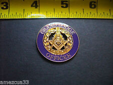 Large High Quality  Grand Lodge Officer  Lapel Pin