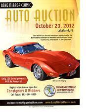 1975 CHEVROLET CORVETTE STINGRAY  ~  NICE AUCTION AD